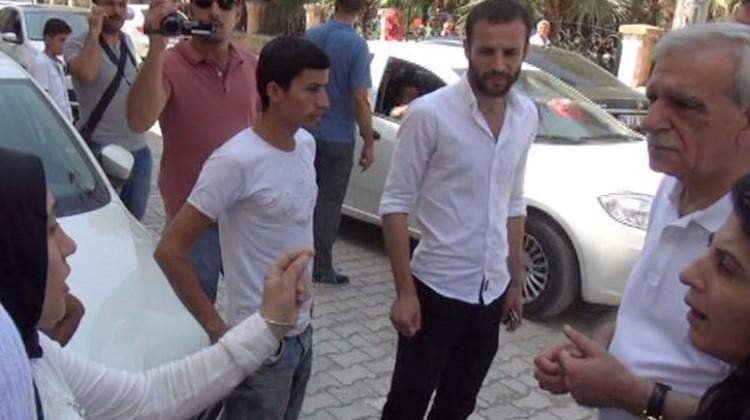Terör mağdurlarından Ahmet Türk'e tepki